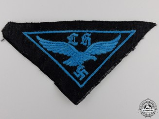 A HJ Flak Helper's Cloth Badge