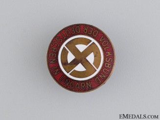 A Hungarian NSDAP Party Badge