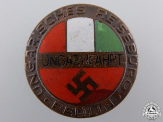 A Hungarian Reiseburo in Berlin Badge