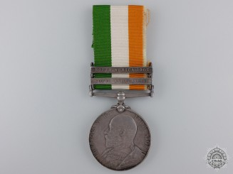 A King;s South Africa Medal to the Canadian Scouts