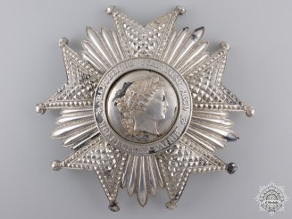 A Legion D'Honneur Breast Star; Grand Cross Star