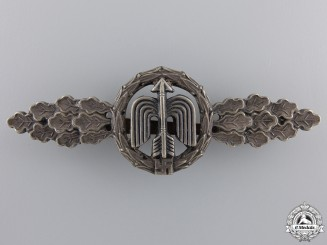 A Luftwaffe Short Range Day Fighter Clasp; Silver Grade