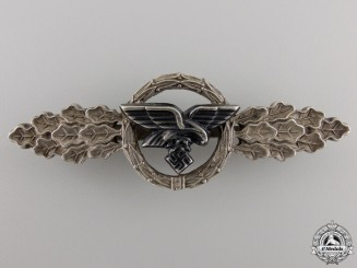 A Luftwaffe Squadron Clasp for Transport Pilots; Silver Grade