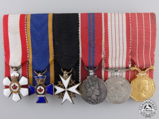 A Men's Order of Canada & Order of Military Merit Miniature Group