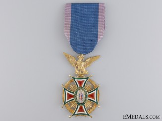 """A Mexican Order of Our Lady of Guadaloupe; Officer""""¢¯s Badge in Gold"""