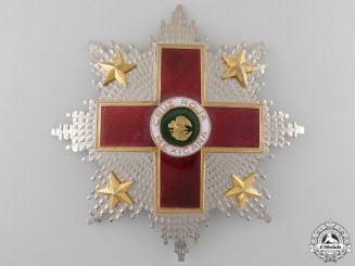 A Mexican Order of the Red Cross; Breast Star