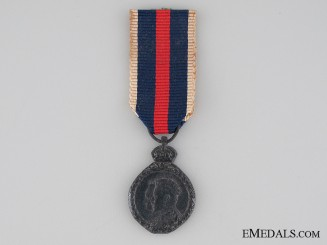 A Miniature 1902 Coronation Medal