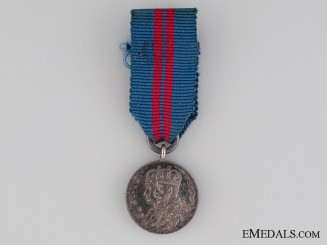 A Miniature 1911 Coronation Medal