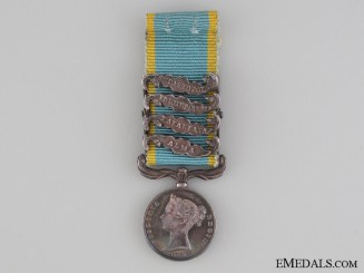 A Miniature Crimea Medal 1854-1856