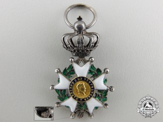 A Miniature French Legion D'Honneur (1852-1870)