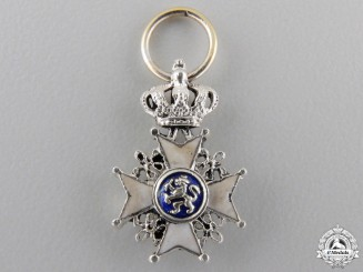 A Miniature Order of the Netherlands Lion
