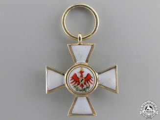A Miniature Prussian Order of Red Eagle