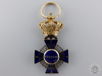 A Miniature Royal Merit Order of St. Michael c.1875