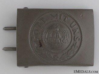 A Mint German Imperial Belt Buckle