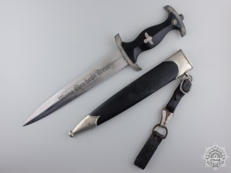 A Model 1933 SS Service Dagger by SS 807/36 RZM