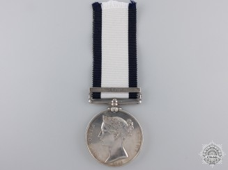 A Naval General Service Medal to H.M.S. Defence; Nile  Consignment 21