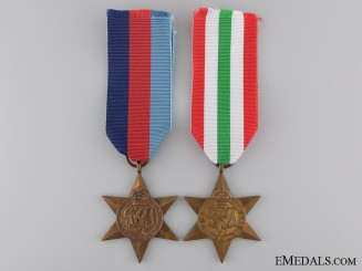 A Pair of Second War Campaign Stars