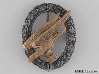 A Paratrooper Badge by Steinhauer & Lück; Cupal Eagle