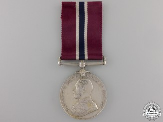 A Permanent Forces of the Empire Beyond the Seas Long Service and Good Conduct Medal