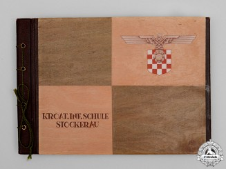 A Photo Album of Oberleutnant Topeters, 369th Croatian Infantry Regiment