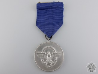 A Police Long Service Award for 8 Years