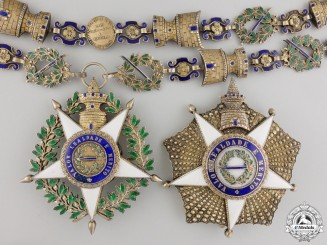 A Portuguese Military Order of Tower and the Sword by Frederico Da Costa