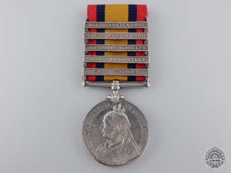 A Queen's South Africa Medal to Imperial Yeomanry