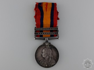 A Queen's South Africa Medal to the Canadian Mounted Rifles