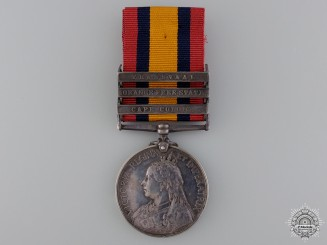 A Queen's South Africa Medal to the 2nd Warwick Regiment