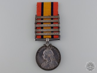 A Queen's South Africa Medal to the South Africa Constabulary