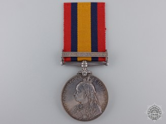 A Queen's South Africa Medal to the Kimberley Town Guard  Consignment 21