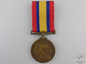 A Queen's South Africa Medal to the Supply and Transport Corps
