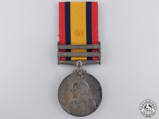 A Queen's South Africa Medal to the 8th Hussars