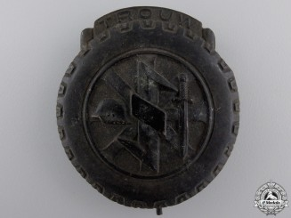 A Rare Dutch NSKK Badge