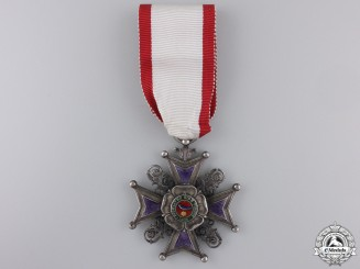 A Rare Lippe-Detmold Order of Leopold; 3rd Class
