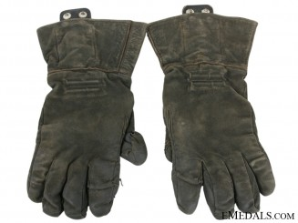 A Rare Pair of Luftwaffe Pilot Gloves