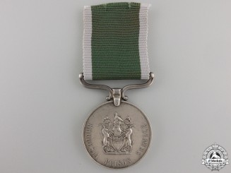 A Rhodesia Prison Long Service & Good Conduct Medal