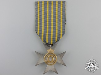 A Romanian Long Service Cross for Twenty Five Years' Service