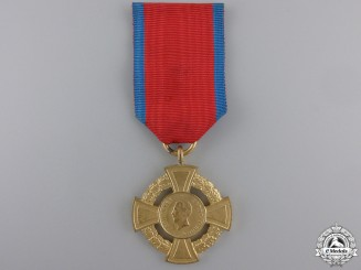A Romanian Medal for Military Virtue; 1st Class