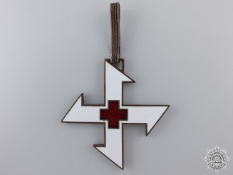 A Romanian Order of the Cross of Queen Marie; Commander