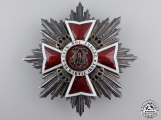 A Romanian Order of the Crown by Bijuteria Weiss Bucuresti