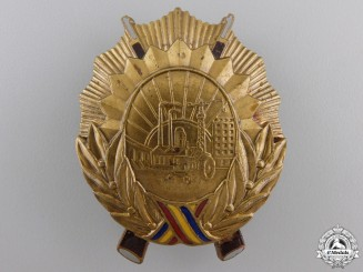A Romanian Order for Service to the Socialist Country; 3rd Class