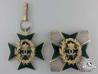 A Romanian Order of Agricultural Merit; Grand Officer's Set by Karnet & Kysely