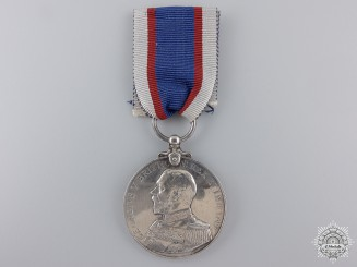 A Royal Fleet Reserve Long Service and Good Conduct Medal