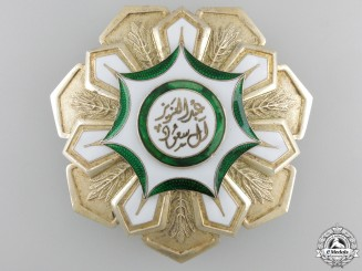 A Saudi Arabian King Abdul Aziz Order of Merit; Breast Star