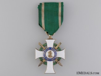 A Saxony Order of Albert with Swords; Knight First Class