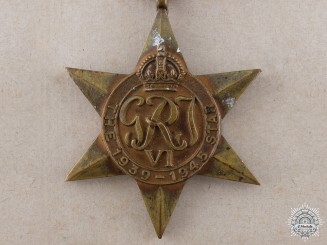 A Second War 1939-45 Campaign Star with Box