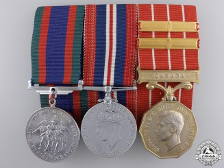 A Second War Canadian Group of Three