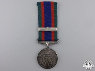 A Second War Canadian Volunteer Service Medal with Overseas Clasp