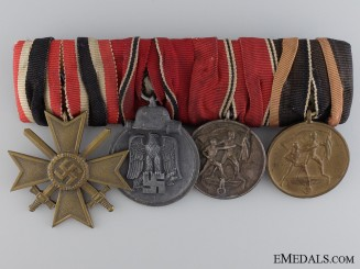 A Second War Group of  Four Awards
